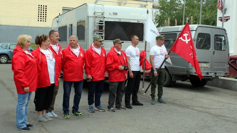 В Архангельске проводили четыре поисковых отряда в путешествие до Бреста