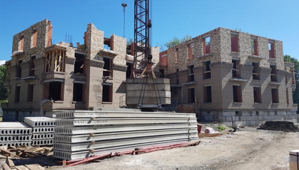 Ход строительства новостройки ЖК «Капитал» в Новодвинске