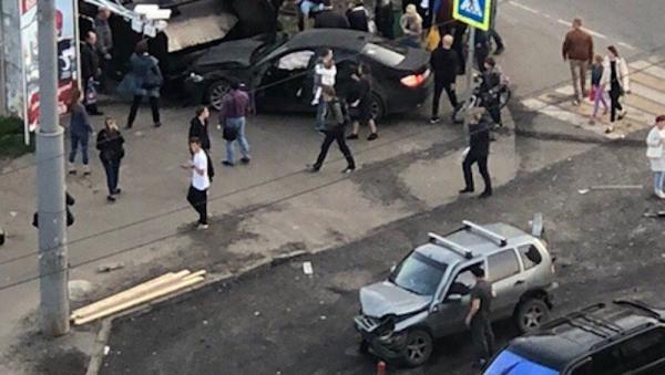 Фото очевидцев аварии