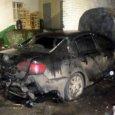 В Архангельске ночные поджигатели сожгли немецкую иномарку