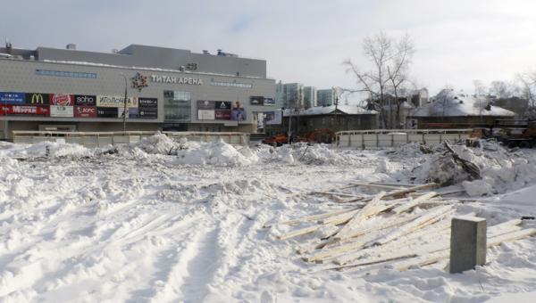 На фото: ход строительства новостройки ЖК «Корона-2» в Архангельске