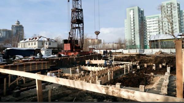 Ход строительства ЖК «Тепло» в Архангельске