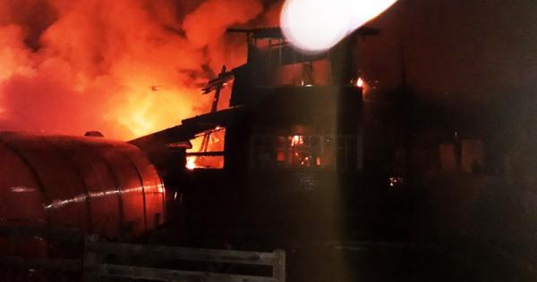 Фото с места происшествия: ГУ МЧС России по Архангельской области