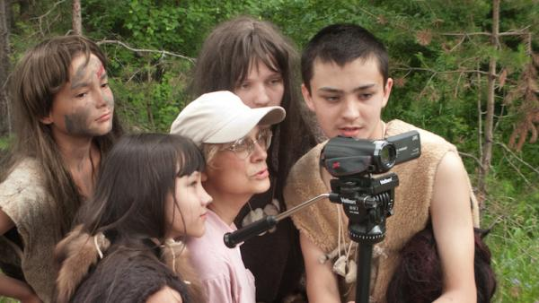 Дмитрий Чесноков со своей съемочной группой (Фото: gimnasia3.ru)