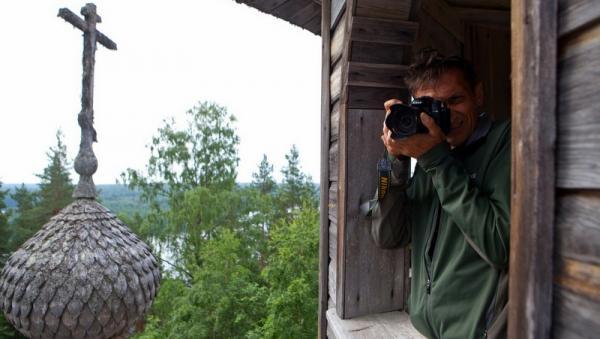 Фотограф дикой природы Игорь Шпиленок. Фото Е. Креханова