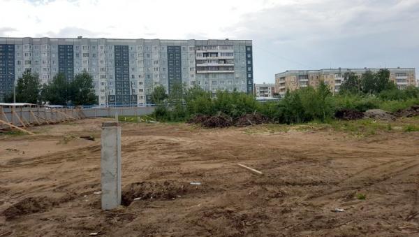 Ход строительства ЖК «ID Морской» в Северодвинске