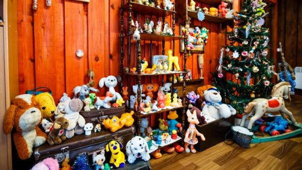 На фото Музей советской игрушки