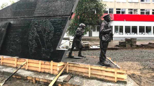 20-тонный московский монумент детям войны «прописался» в центре Архангельска