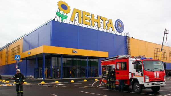 Гипермаркет «Лента» стал площадкой для масштабных учений в Архангельске