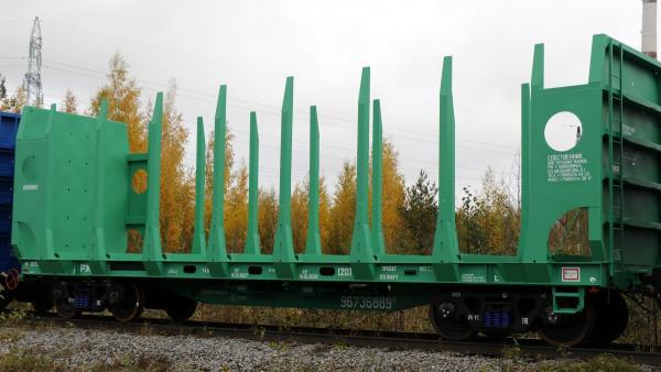 «Архбум» увеличивает свой парк тихвинских вагонов-платформ для леса