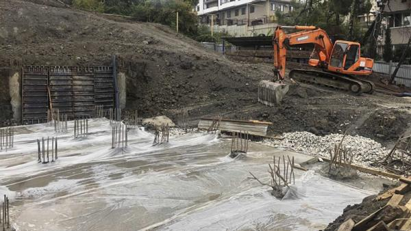 Ход строительства новостройки ЖК «Каскад» в Сочи