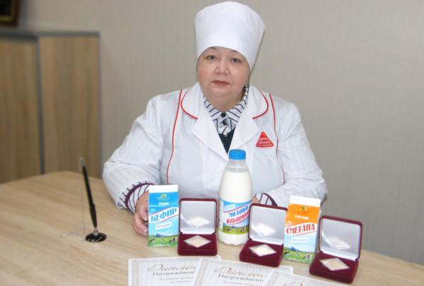 На фото: Директор по качеству АО «Молоко», Алла Острякова