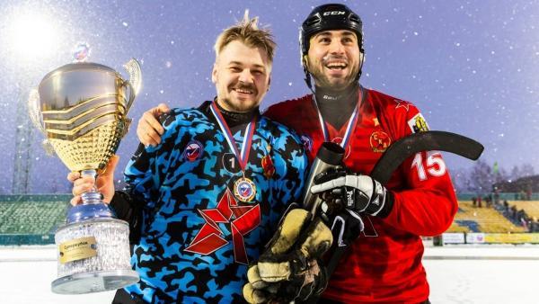 «СКА-Нефтяник» на архангельском льду выиграл Суперкубок России по хоккею с мячом