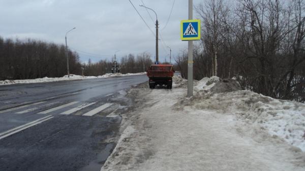 Водитель иномарки сбил пешехода на окраине Архангельска
