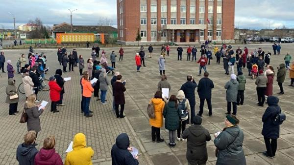 Стоят в пикетах и пишут петиции: как в НАО отнеслись к идее объединения с Поморьем