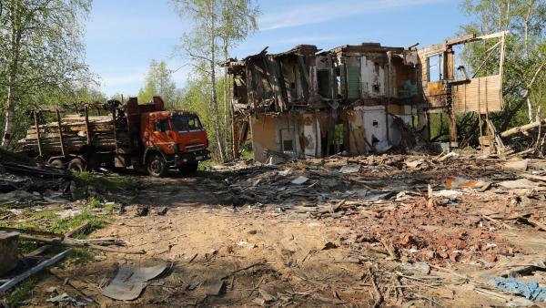 В 2020 году в Архангельске снесут 70 расселенных «деревяшек»
