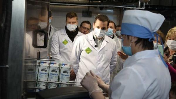 В Поморье запущено производство уникального молока с высоким содержанием селена