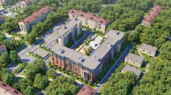 Группа «Аквилон» построит на острове Ягры в Северодвинске новый жилой комплекс